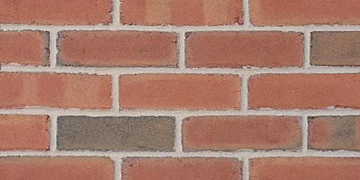 350 M Molded Pink Glengarry Brick Colors Samples And