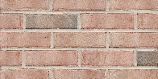 Blush Mist W19 Extruded Pink Glengarry Brick Colors