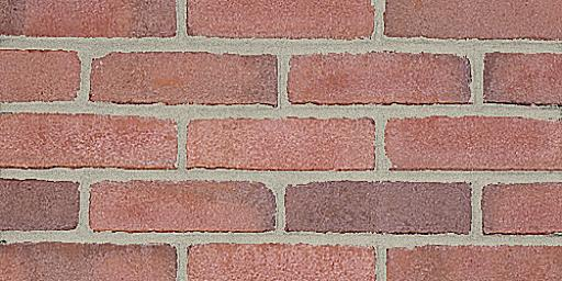 Covington Molded Pink Glengarry Brick Colors Samples