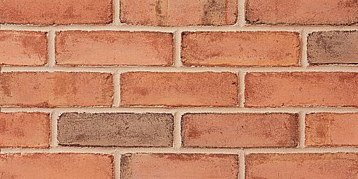 Danish Molded Pink Glengarry Brick Colors Samples And