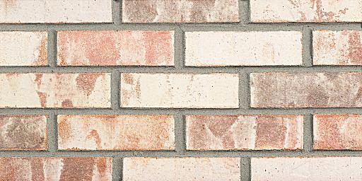 Silver Aspen Extruded Pink Glengarry Brick Colors