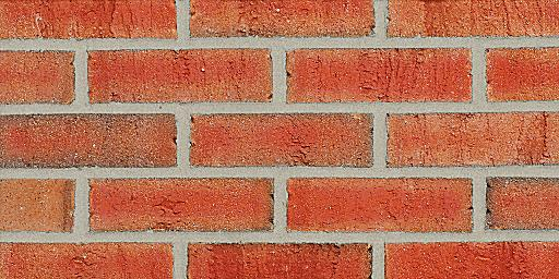 Vermillion Extruded Red Glengarry Brick Colors Samples