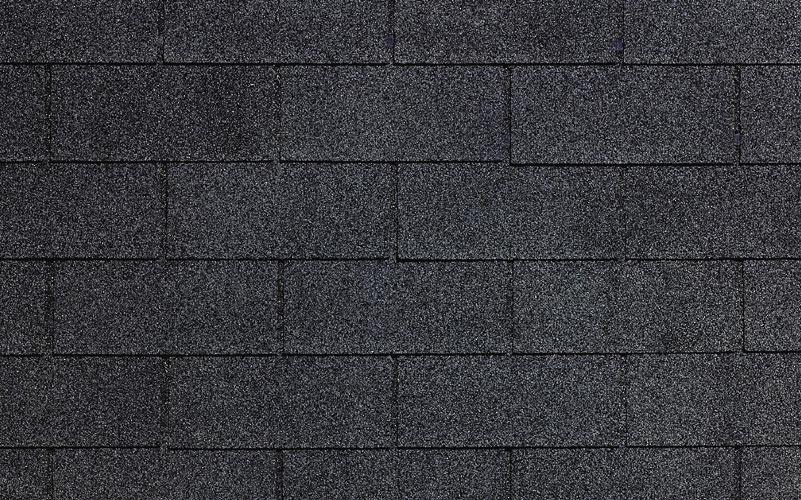 Black Custom Sealdon Certainteed Shingle Colors
