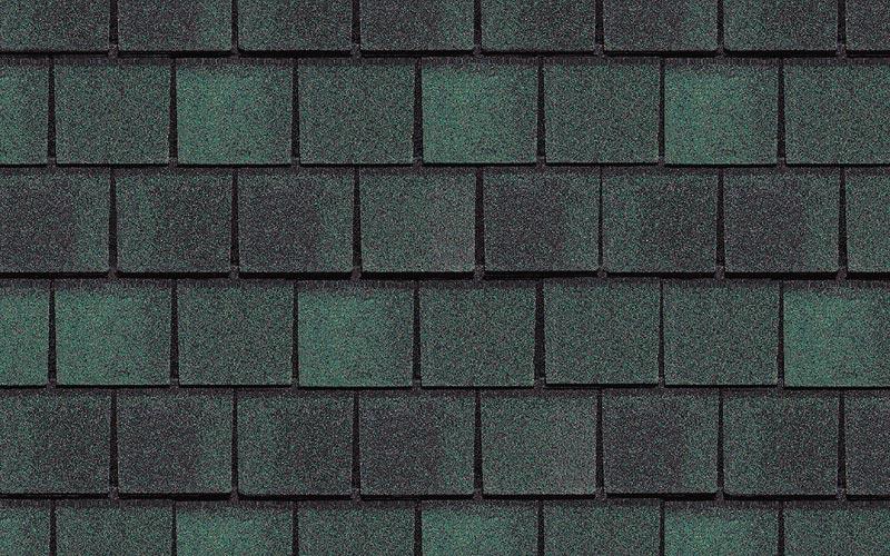Newport Green Hatteras Certainteed Shingle Colors Samples – Hunter Green Roof Shingles