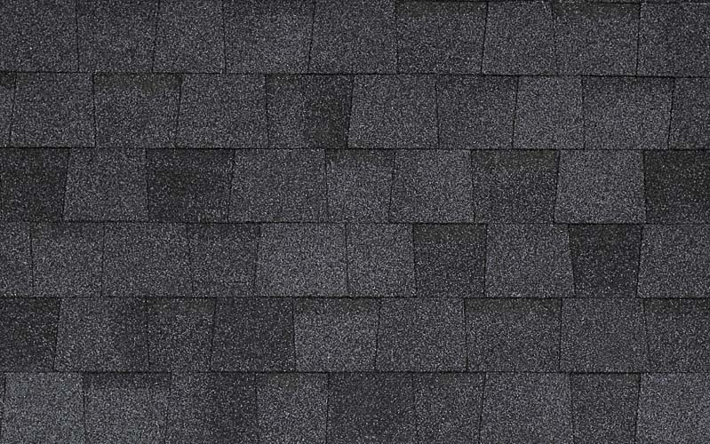 Moire Black Landmark Certainteed Shingle Colors