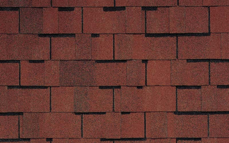 Cottage Red Independence Certainteed Shingle Colors