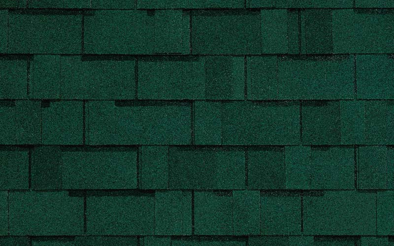 Hunter Green Independence Certainteed Roof Shingle
